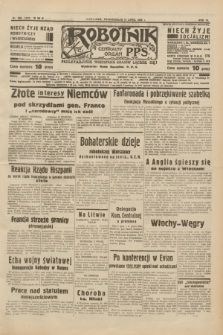 Robotnik : centralny organ P.P.S. R.40 [i.e.44], nr 190 (11 lipca 1938) = nr 7459