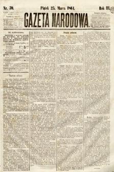 Gazeta Narodowa. 1864, nr70