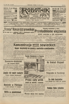 Robotnik : centralny organ P.P.S. R.40 [i.e.44], nr 198 (19 lipca 1938) = nr 7467