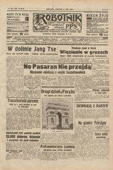 Robotnik : centralny organ P.P.S. R.40 [i.e.44], nr 200 (21 lipca 1938) = nr 7469