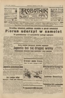 Robotnik : centralny organ P.P.S. R.40 [i.e.44], nr 203 (24 lipca 1938) = nr 7472