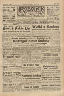 Robotnik : centralny organ P.P.S. R.44, nr 252 (8 września 1938) = nr 7517