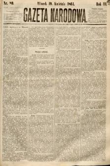 Gazeta Narodowa. 1864, nr89