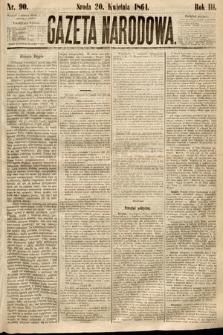 Gazeta Narodowa. 1864, nr90