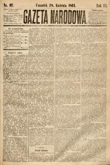 Gazeta Narodowa. 1864, nr97