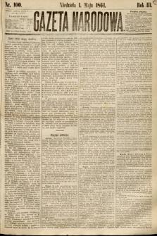 Gazeta Narodowa. 1864, nr100