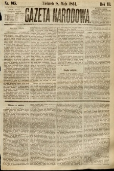 Gazeta Narodowa. 1864, nr105