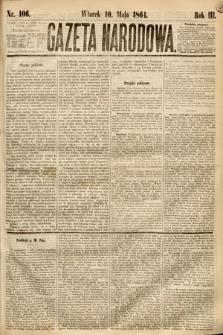 Gazeta Narodowa. 1864, nr106
