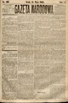 Gazeta Narodowa. 1864, nr107