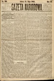 Gazeta Narodowa. 1864, nr110