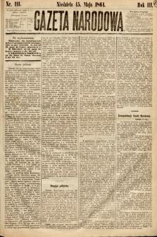 Gazeta Narodowa. 1864, nr111