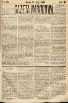 Gazeta Narodowa. 1864, nr115