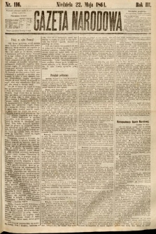 Gazeta Narodowa. 1864, nr116