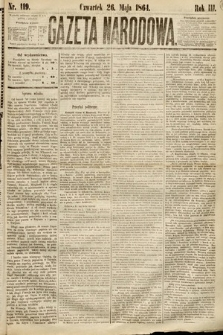 Gazeta Narodowa. 1864, nr119
