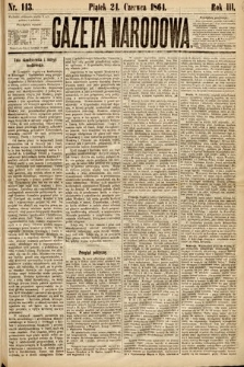Gazeta Narodowa. 1864, nr143