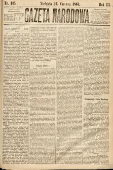 Gazeta Narodowa. 1864, nr145