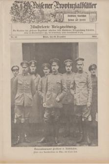 Posener Provinzialblätter : Illustrierte Rundschau in Heimat und Fremde : Illustrierte Kriegszeitung. 1914, Nr. 52 (27 Dezember)
