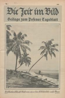 Die Zeit im Bild : Beilage zum Posener Tageblatt. 1925, Nr. 1 ([9 Januar])