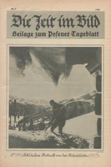 Die Zeit im Bild : Beilage zum Posener Tageblatt. 1925, Nr. 2 ([15 Januar])
