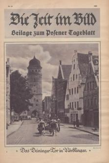 Die Zeit im Bild : Beilage zum Posener Tageblatt. 1925, Nr. 19 ([15 Mai])