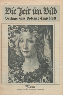 Die Zeit im Bild : Beilage zum Posener Tageblatt. 1925, Nr. 25 ([25 Juni])