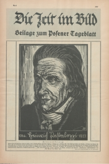 Die Zeit im Bild : Beilage zum Posener Tageblatt. 1927, Nr. 4 ([10 März])