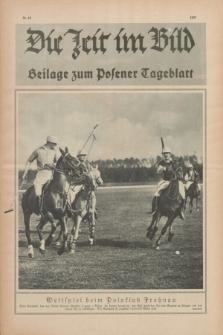 Die Zeit im Bild : Beilage zum Posener Tageblatt. 1927, Nr. 12 ([8 Juli])