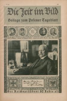 Die Zeit im Bild : Beilage zum Posener Tageblatt. 1927, Nr. 20 ([8 November])