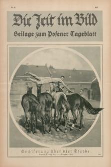 Die Zeit im Bild : Beilage zum Posener Tageblatt. 1927, Nr. 21 ([22 November])