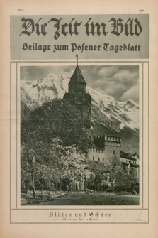 Die Zeit im Bild : Beilage zum Posener Tageblatt. 1928, Nr. 9 ([9 Mai])