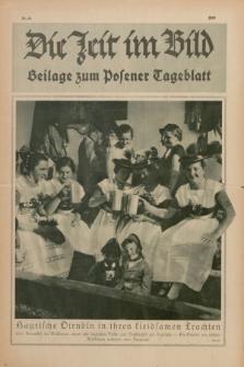 Die Zeit im Bild : Beilage zum Posener Tageblatt. 1928, Nr. 18 ([8 September])