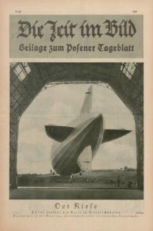 Die Zeit im Bild : Beilage zum Posener Tageblatt. 1928, Nr. 20 ([10 Oktober])
