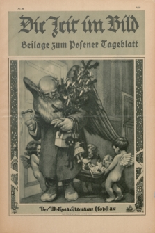 Die Zeit im Bild : Beilage zum Posener Tageblatt. 1928, Nr. 26 ([25 Dezember])