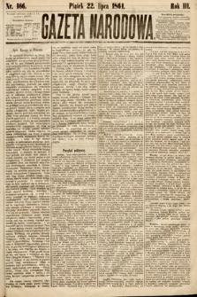 Gazeta Narodowa. 1864, nr166