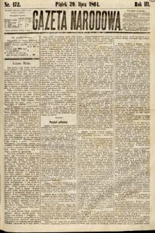 Gazeta Narodowa. 1864, nr172