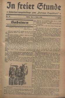 """In Freier Stunde : Unterhaltungsbeilage zum """"Posener Tageblatt"""". Jg.2, Nr. 56 (8 März 1928)"""