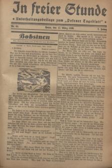 """In Freier Stunde : Unterhaltungsbeilage zum """"Posener Tageblatt"""". Jg.2, Nr. 64 (17 März 1928)"""