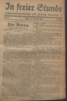 """In Freier Stunde : Unterhaltungsbeilage zum """"Posener Tageblatt"""". Jg.2, Nr. 95 (25 April 1928)"""