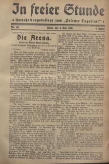 """In Freier Stunde : Unterhaltungsbeilage zum """"Posener Tageblatt"""". Jg.2, Nr. 101 (2 Mai 1928)"""