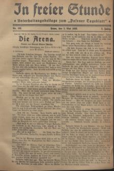 """In Freier Stunde : Unterhaltungsbeilage zum """"Posener Tageblatt"""". Jg.2, Nr. 102 (3 Mai 1928)"""