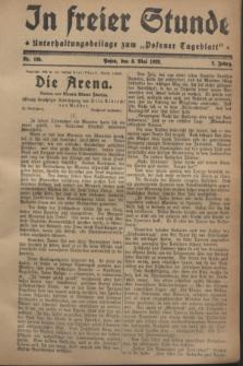 """In Freier Stunde : Unterhaltungsbeilage zum """"Posener Tageblatt"""". Jg.2, Nr. 105 (8 Mai 1928)"""