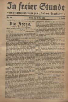 """In Freier Stunde : Unterhaltungsbeilage zum """"Posener Tageblatt"""". Jg.2, Nr. 106 (9 Mai 1928)"""