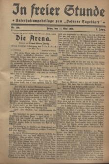 """In Freier Stunde : Unterhaltungsbeilage zum """"Posener Tageblatt"""". Jg.2, Nr. 108 (11 Mai 1928)"""