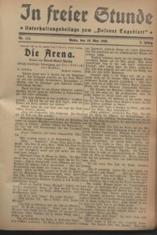 """In Freier Stunde : Unterhaltungsbeilage zum """"Posener Tageblatt"""". Jg.2, Nr. 114 (19 Mai 1928)"""