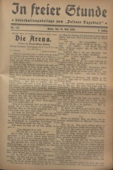 """In Freier Stunde : Unterhaltungsbeilage zum """"Posener Tageblatt"""". Jg.2, Nr. 119 (25 Mai 1928)"""