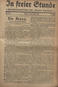 """In Freier Stunde : Unterhaltungsbeilage zum """"Posener Tageblatt"""". Jg.2, Nr. 120 (26 Mai 1928)"""