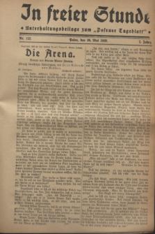 """In Freier Stunde : Unterhaltungsbeilage zum """"Posener Tageblatt"""". Jg.2, Nr. 122 (30 Mai 1928)"""