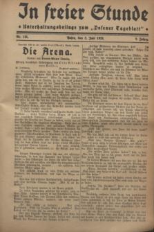 """In Freier Stunde : Unterhaltungsbeilage zum """"Posener Tageblatt"""". Jg.2, Nr. 125 (2 Juni 1928)"""