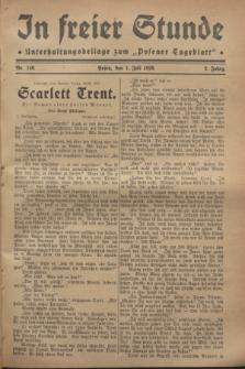 """In Freier Stunde : Unterhaltungsbeilage zum """"Posener Tageblatt"""". Jg.2, Nr. 148 (1 Juli 1928)"""