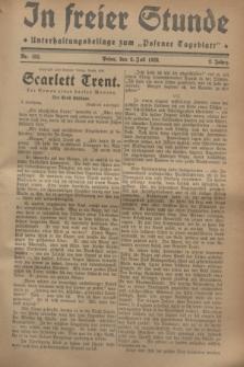 """In Freier Stunde : Unterhaltungsbeilage zum """"Posener Tageblatt"""". Jg.2, Nr. 152 (6 Juli 1928)"""